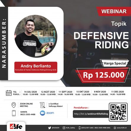Webinar Defensive Riding